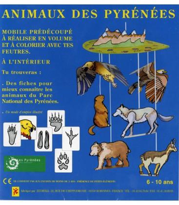 Mobile coloriage animaux des Pyrénées